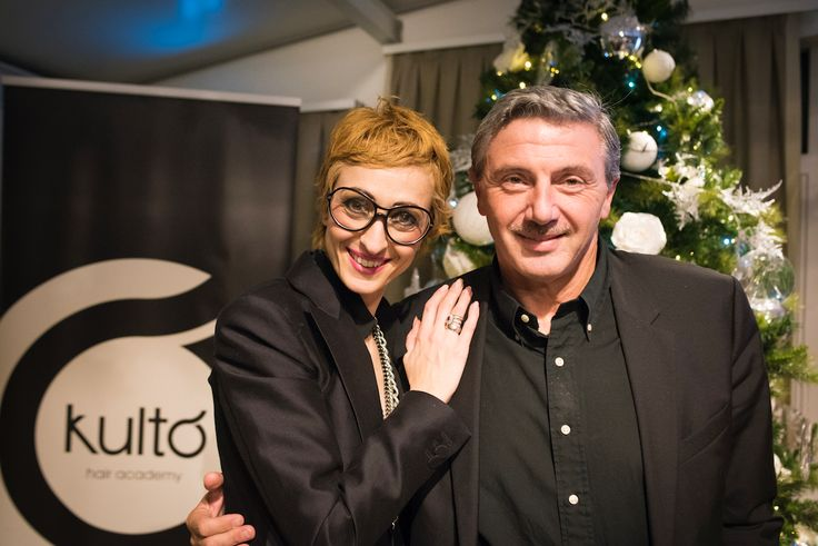 "#Ospiti del nostro #evento ""Happy Hour 2016""by @kultoacademy   #giusydonghia #hair #hairdesign #kultohairacademy #accademia #cut #tagli #color #fashion #stile #parrucchieri #acconciature #saloni"