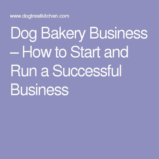 Dog Bakery Business – How to Start and Run a Successful Business
