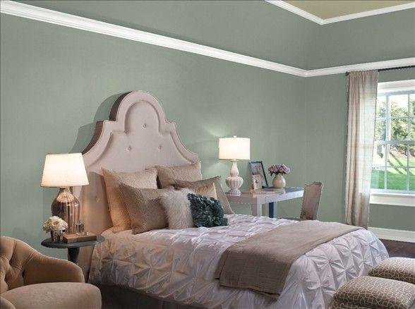 Benjamin Moore Carolina Gull Dark Blue Bedrooms Grey