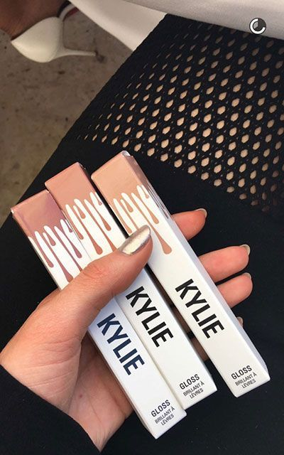 Kylie Jenner Lip Gloss | Kylie Jenner is launching a line of lip glosses. #refinery29 http://www.refinery29.com/2016/03/107341/kylie-jenner-lip-gloss-launch