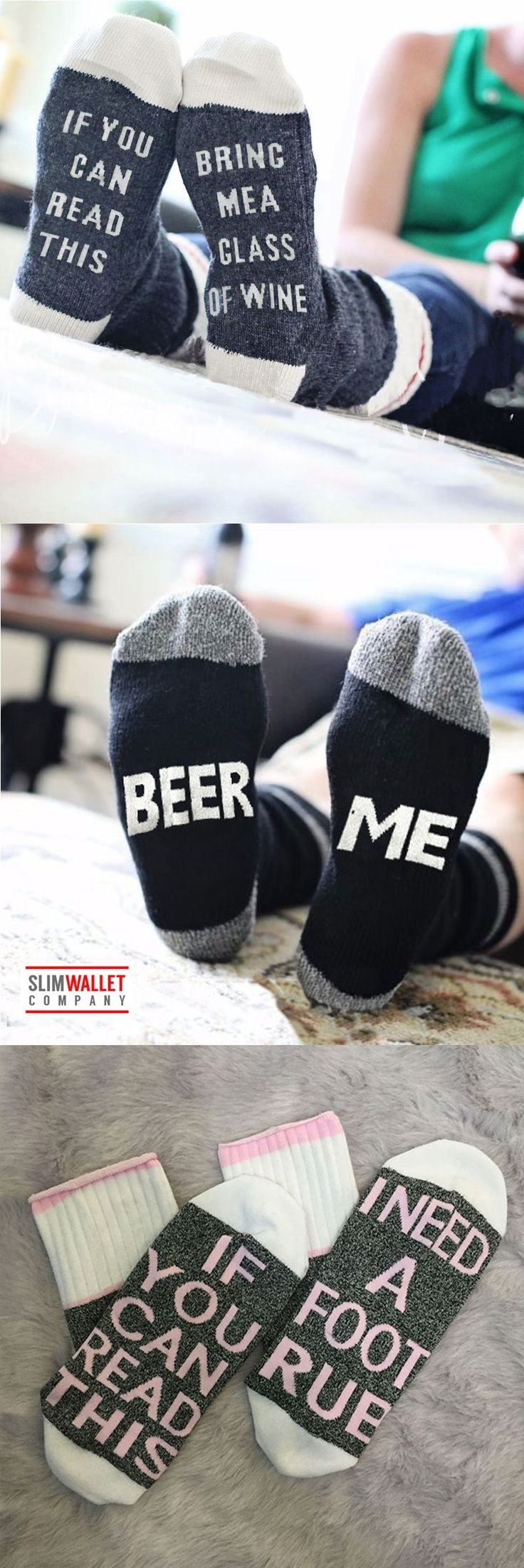 Funny sock stocking stuffer gifts