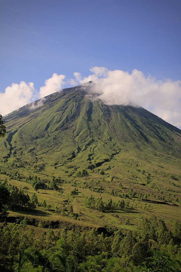 To Bena villagers, Mt. Inerie is the natural resting place of female ancestors, called bhaga -  and the abode of their god Zeta. The mountain is best visited during June to August when the sky is mostly clear so climbers can see both the Savu Sea and Bajawa at the same time from the same place.