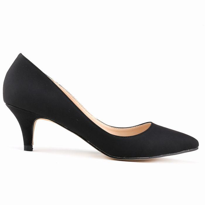 Средиземноморский классическая сексуальная женщина насос ее большой насос обувь дизайн логотипа свадебное весна ее 35-42 678-1SUEDE