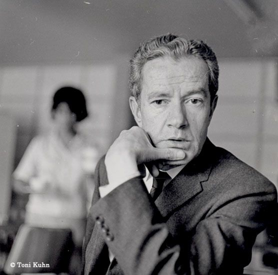 Juan Rulfo, 1966 © Tony Kuhn, Cortesía Proceso
