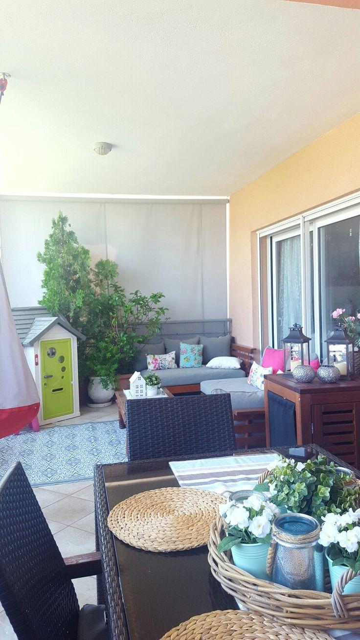 Veranda decoration terrace