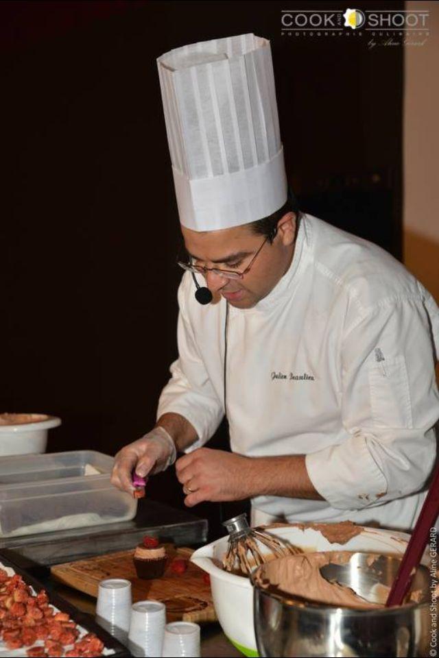 Cup cake, Σεμινάριο Γαλλικής Ζαχαροπλαστικής, Julien Beaulieu 1-12-2014, Hotel Sofitel Athens Airport,