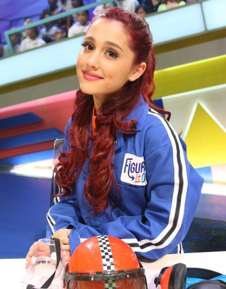 Ariana On Figure It Out Ariana Grande Pinterest