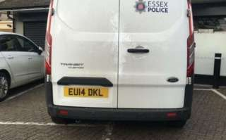 Essex Police chief points out poor police parking on Twitter