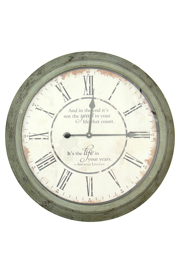 Lincon Metal Clock| Mr Price Home Online Shopping