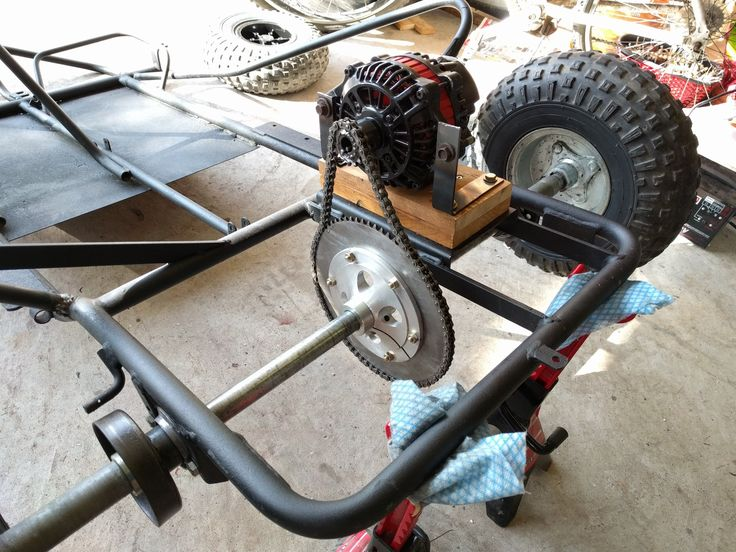 <p>For our final technical project we decided to build an electric go kart using commonly available components. The requirements were to implement project management principles, hardware, and software design. The project build time was about 3 months, but the research started about 4 mounts in advance. </p><p>We started to research potential motors that could be suitable for a go kart. Our target motor power output was 3kW. The majority of 3 phase 3kW electric motor are...