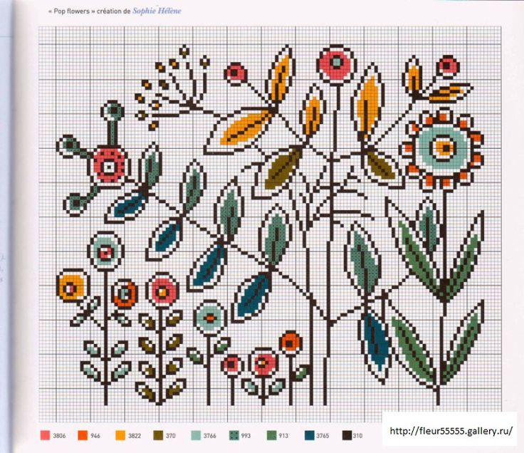 Cross stitch/hama/perler Gallery.ru / Фото #45 - 38 - Fleur55555