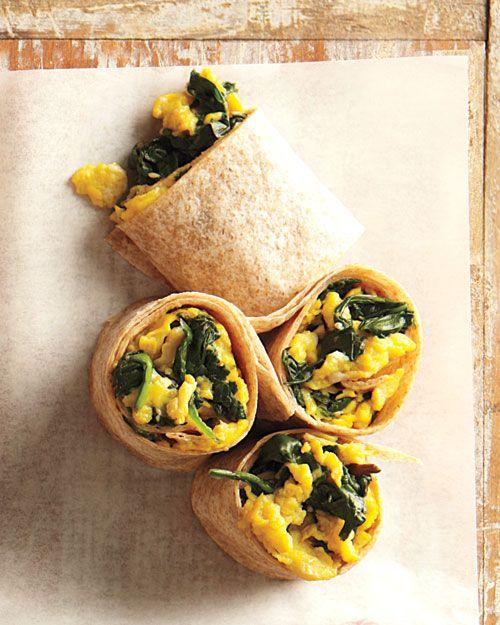 Scrambled Egg Wrap - ei | Pinterest - Roerei, Olijven en Wraps