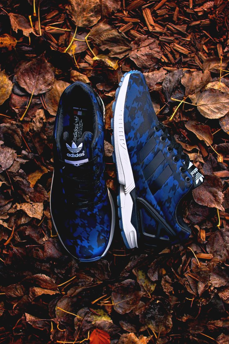 Adidas Flux Blue Flowers