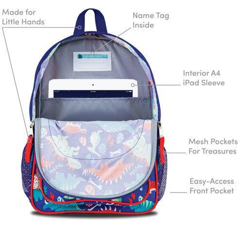 LONE CONE Preschool Backpack features   LONE CONE Preschool