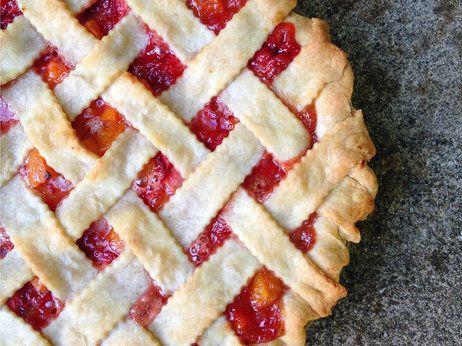 Strawberry Apricot Pie