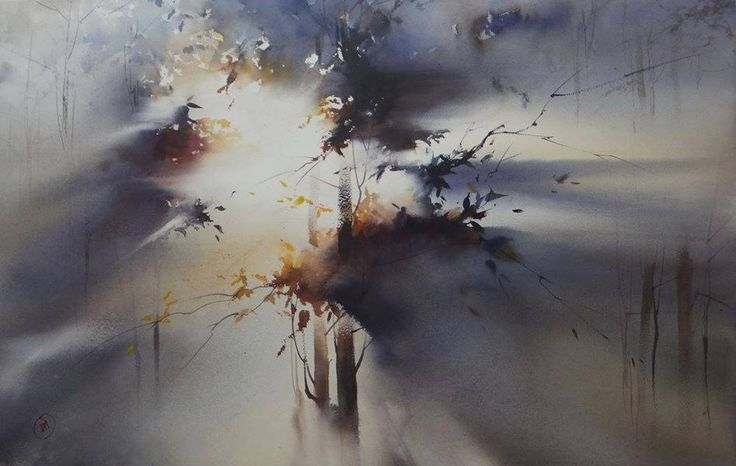 Tamara Orlova: LIGHT around us - watercolor. https://www.facebook.com/photo.php?fbid=366433950184624