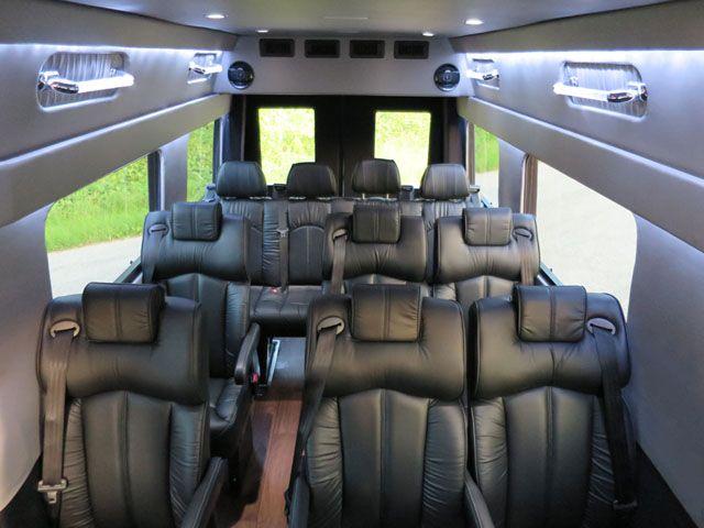 2014 Mercedes-Benz Sprinter. 6 Cylinder, 15 passenger, Limo Executive Shuttle Van.