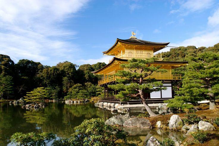 Kyoto Kinkakuji (padiglione d'oro)