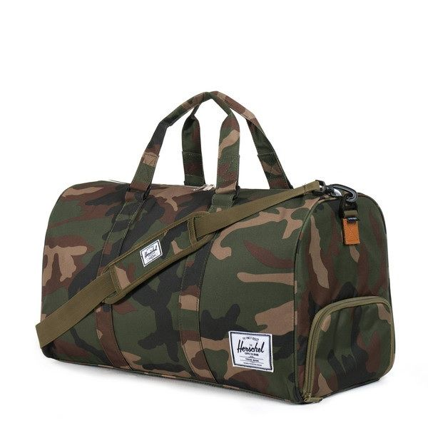 Herschel camo duffel bag. Perfect for urban and rural adventures.