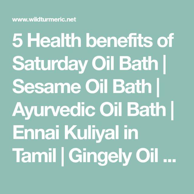 5 Health Benefits of Saturday Oil Bath | Auryveda | Ayurvedic oil