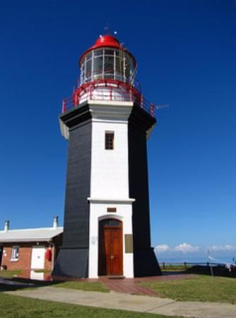 Great Fish Point Lighthouse           near Port Alfred      Eastern Cape