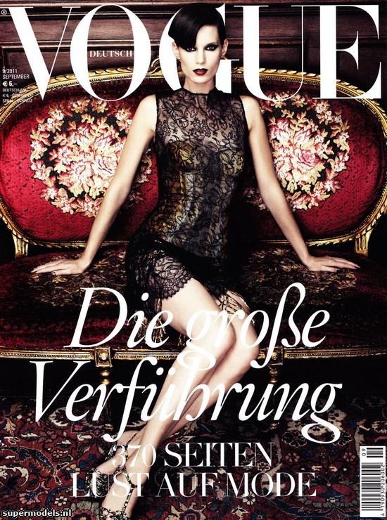 Iris Strubegger in 'Dream Works' - Photographed by Alexi Lubomirski (Vogue Deutsch September 2011)