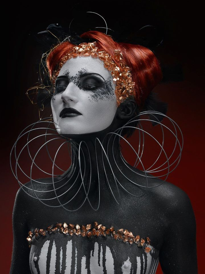 Osea Costantini Studio   Face and body Painting   repinned by www.BlickeDeeler.de