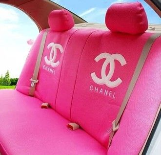 bag pink coco chanel car seats top car chanel girly pink