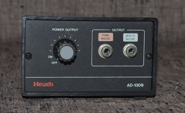 Heathkit White / Pink Noise Generator Ad 1309 Untested Guaranteed #Heathkit