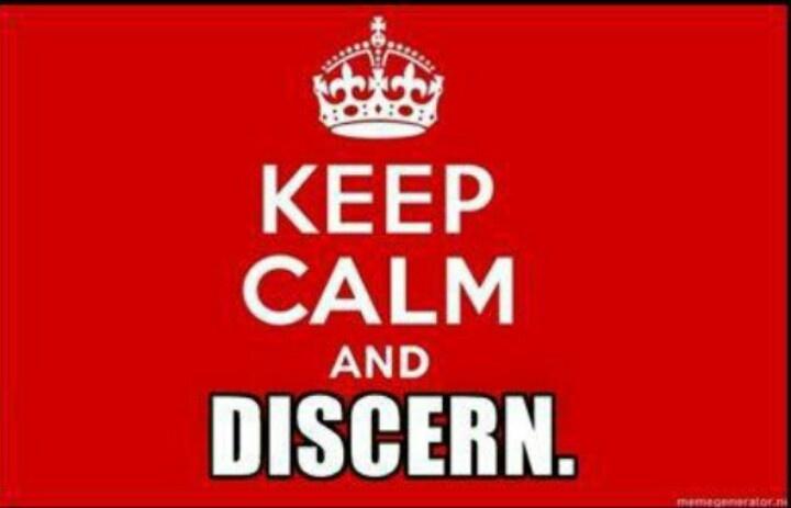 Discern...