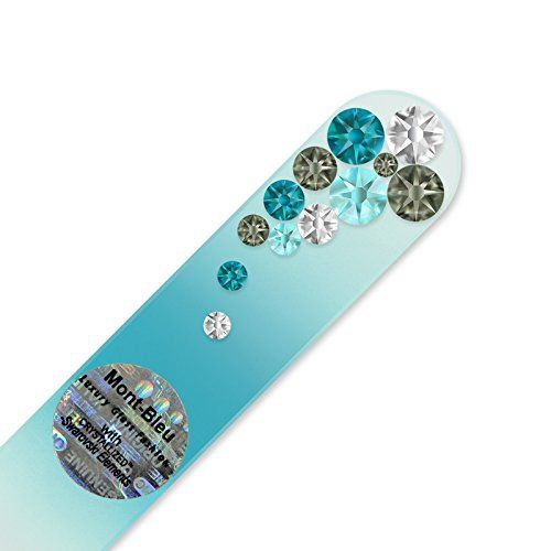 Mont Bleu Glass Nail File hand decorated with crystals fr... https://www.amazon.com/dp/B01N6UVJZ6/ref=cm_sw_r_pi_dp_x_JgXBzb6PRKQXC