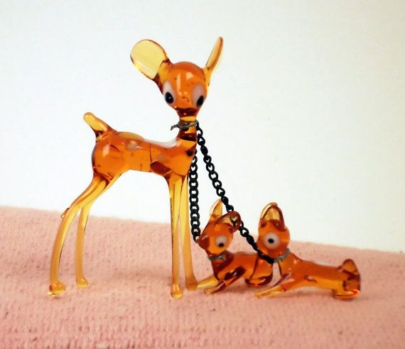 Vintage Glass Animals. My Grandma bought me these. I had quite a collection. All gone now