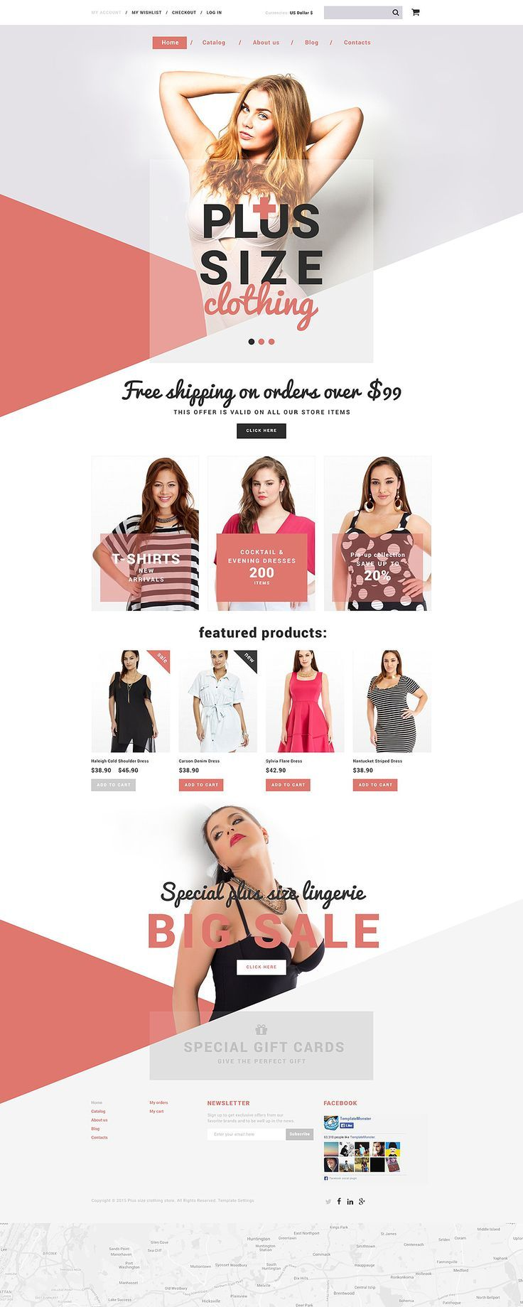 Plus Size Clothing Shopify Theme Clothing Size Theme Dropshipping Start Your Dropshipping Business With 14 Free Days Trial Dropshipping Dropship Sho