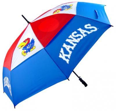 Kansas Jayhawks Golf Umbrella: Jayhawks Umbrellas, Kansas Jayhawks, Jayhawks Golf, Golf Umbrellas, Golf Shoes, Golf Products, Golf Club, Inch Golf, Golf Bags