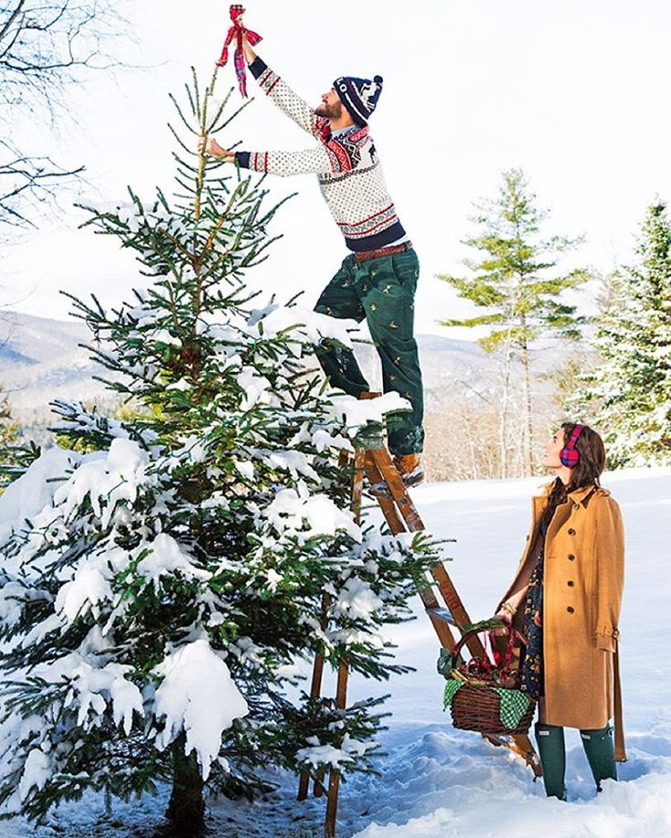 This christmas tree farm wedding looks like a fairytale for Where do christmas trees come from