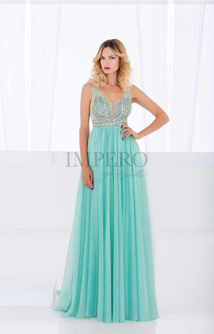 MS 150180  #abiti #dress #wedding #matrimonio #cerimonia #party #event #damigelle #verde #green