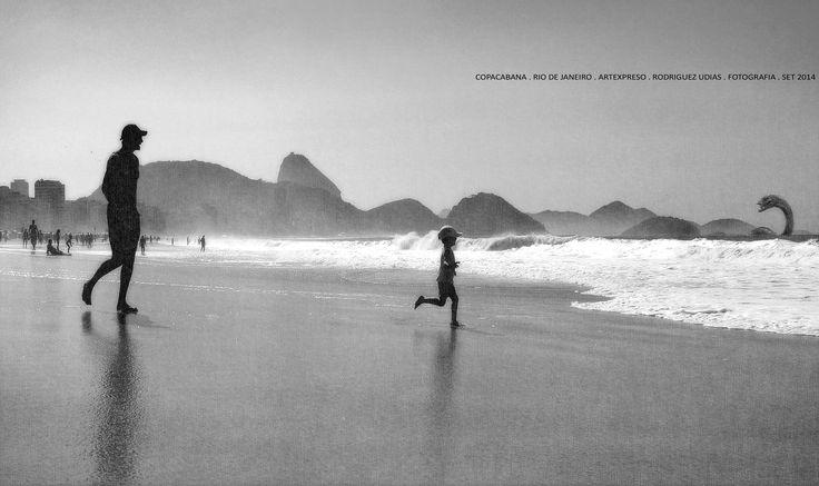 Rio de Janeiro . Copacabana . Artexpreso 2014