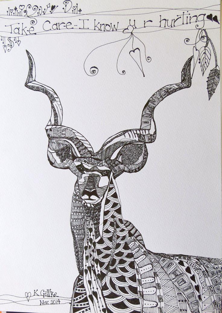 zentangle art by kat gottke
