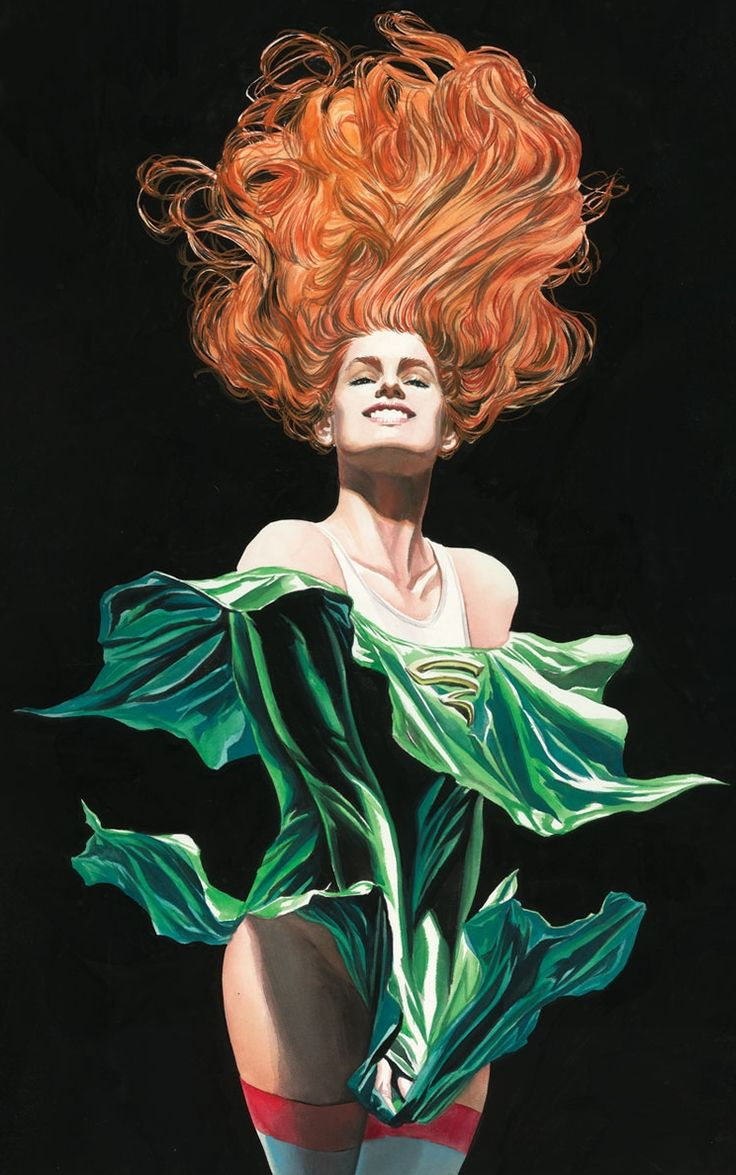 Cyclone by Alex Ross (from Justice Society of America #3)