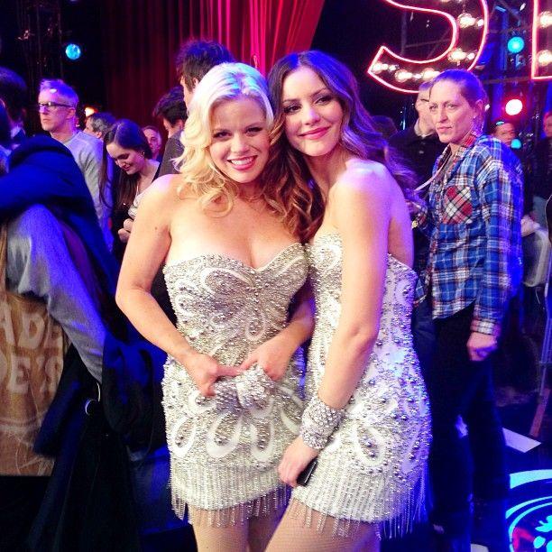 Megan Hilty and Katharine McPhee  | #Smash