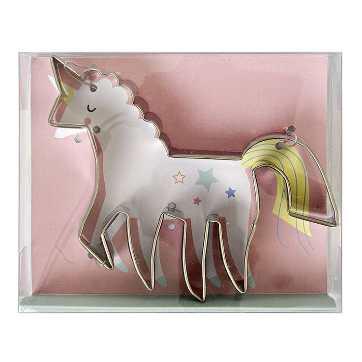 Unicorn Cookie Cutter www.CircoDellaModa.com