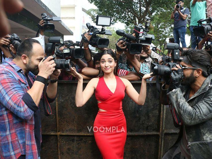 Tamannaah goofing around with Ranveer Singh Rohit Shetty! CLick Here >> Voompla.com