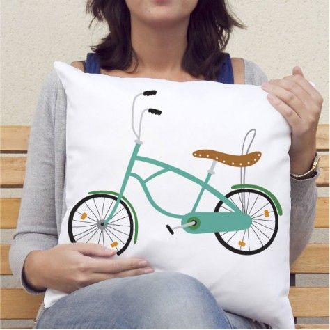 Cojines personalizados Bici 3