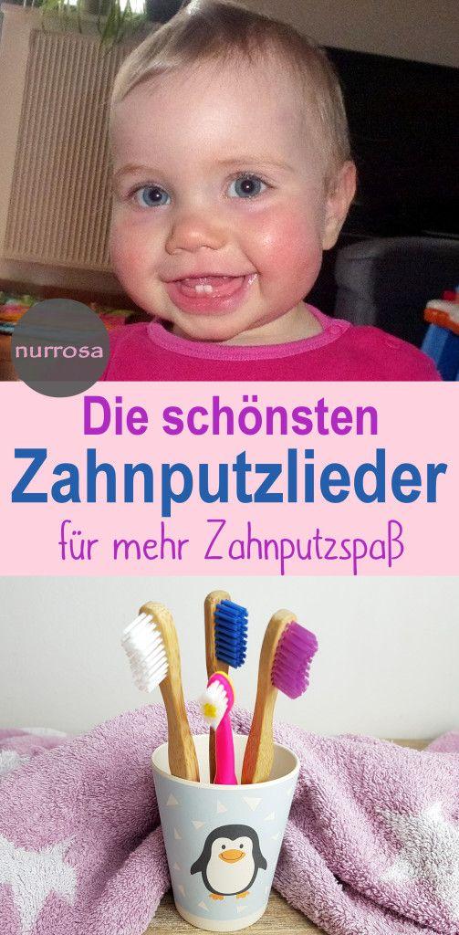Die schönsten Zahnputzlieder für Kinder, Zähneputzen ist ab dem ersten Milchz…