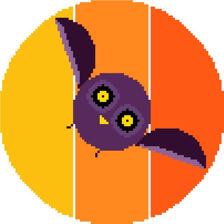 Such a wonderful and bright cross stitch pattern! Lovely colours and simple shapes make this minimalist embroidered owl a joy to work on and to look at!