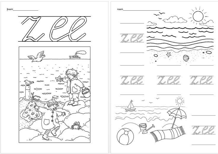 Schrijfblad VVL Kim versie kern 3 - zee