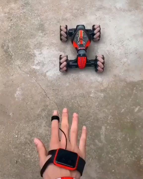 Hand Gesture Remote Control Stunt Car