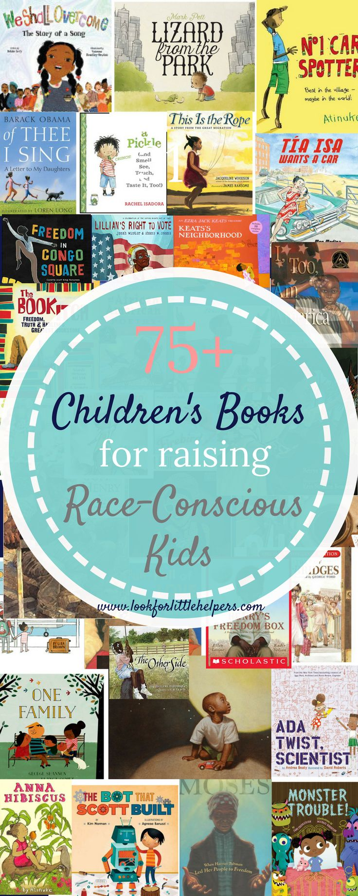 75+ books with characters of color for diverse reading!