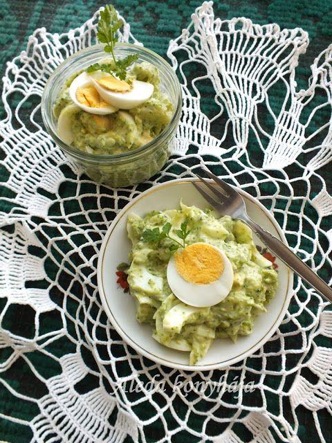 Aleda konyhája: Majonézes brokkolisaláta