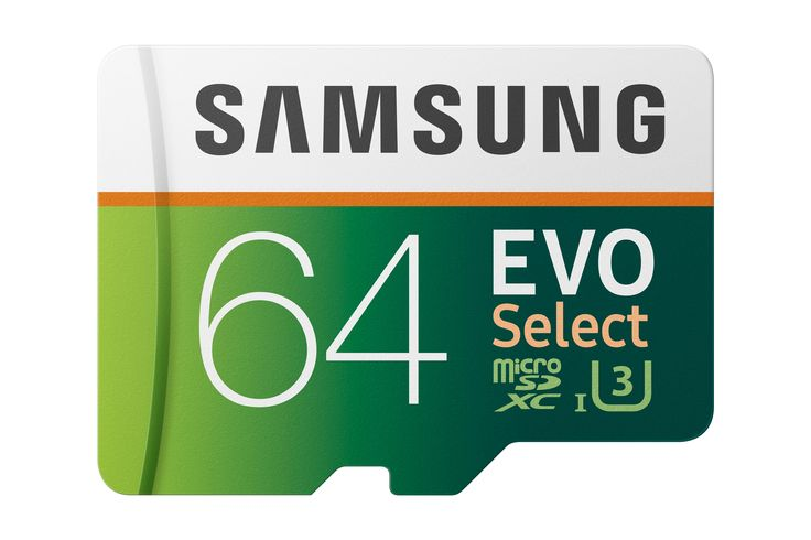 Amazon.com: Samsung 64GB 100MB/s (U3) MicroSDXC EVO Select Memory Card with Adapter (MB-ME64GA/AM): SAMSUNG: Computers & Accessories